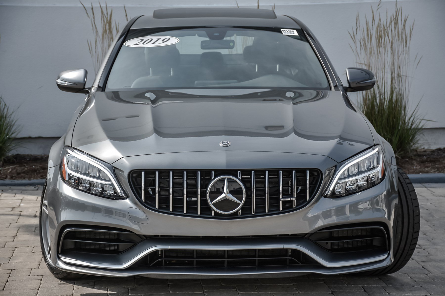Pre-Owned 2019 Mercedes-Benz C-Class AMG® C 63 With Navigation