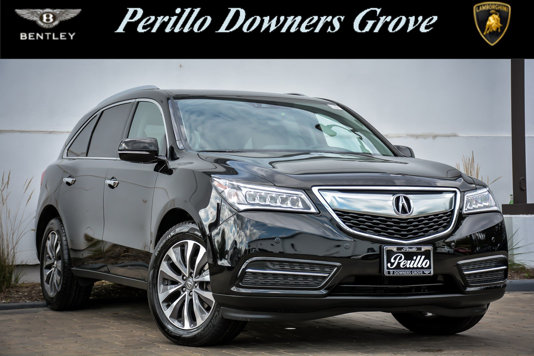 Pre Owned 2016 Acura MDX w Advance Navigation Sport Utility in