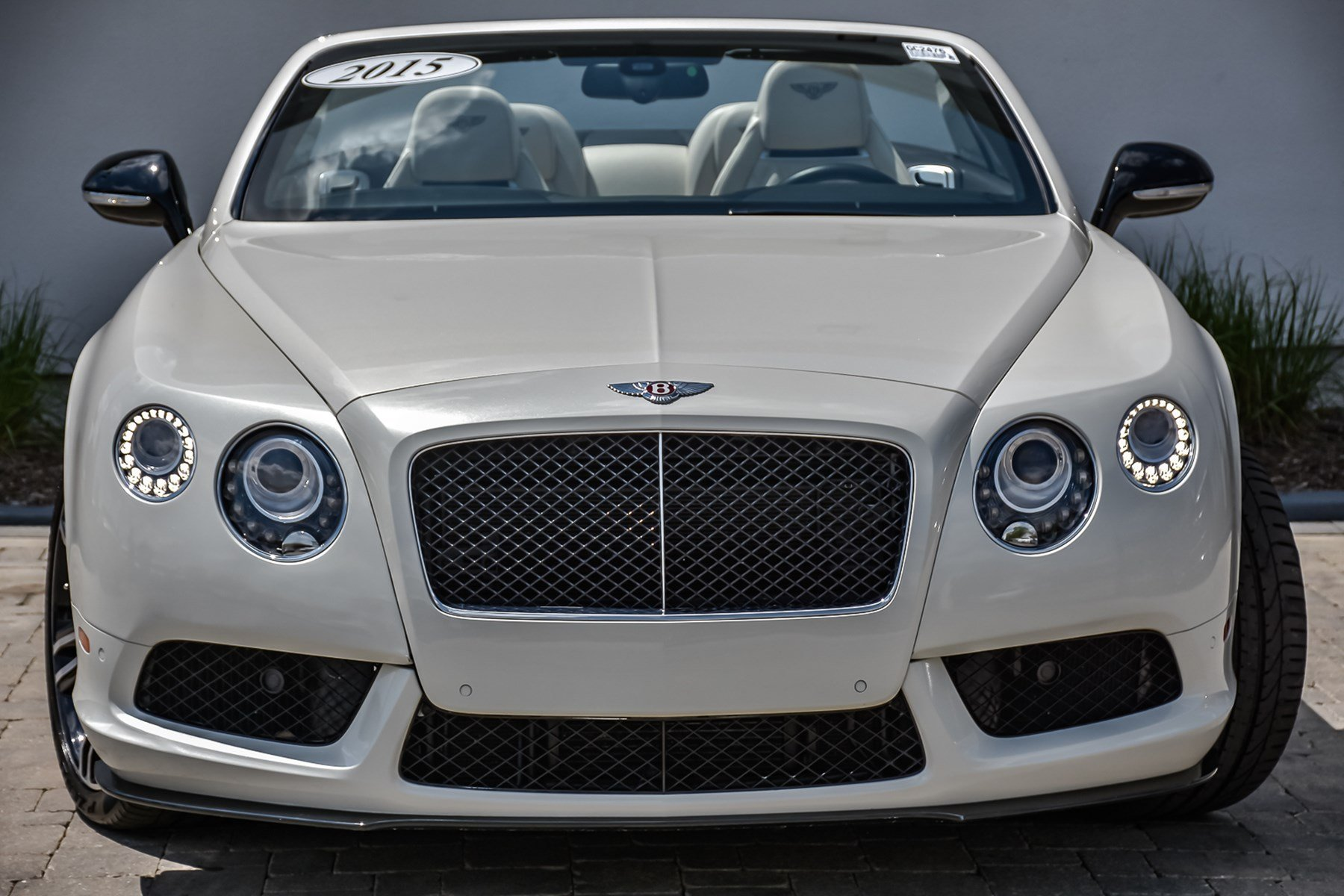 Pre-Owned 2015 Bentley Continental GTC V8 S Mulliner