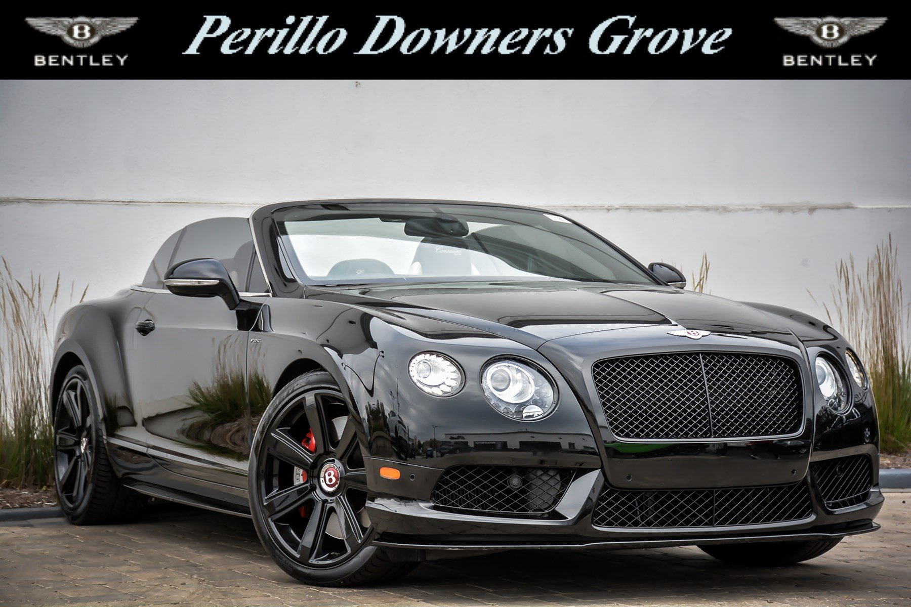Pre Owned 2015 Bentley Continental GTC V8 S Concourse Series Black