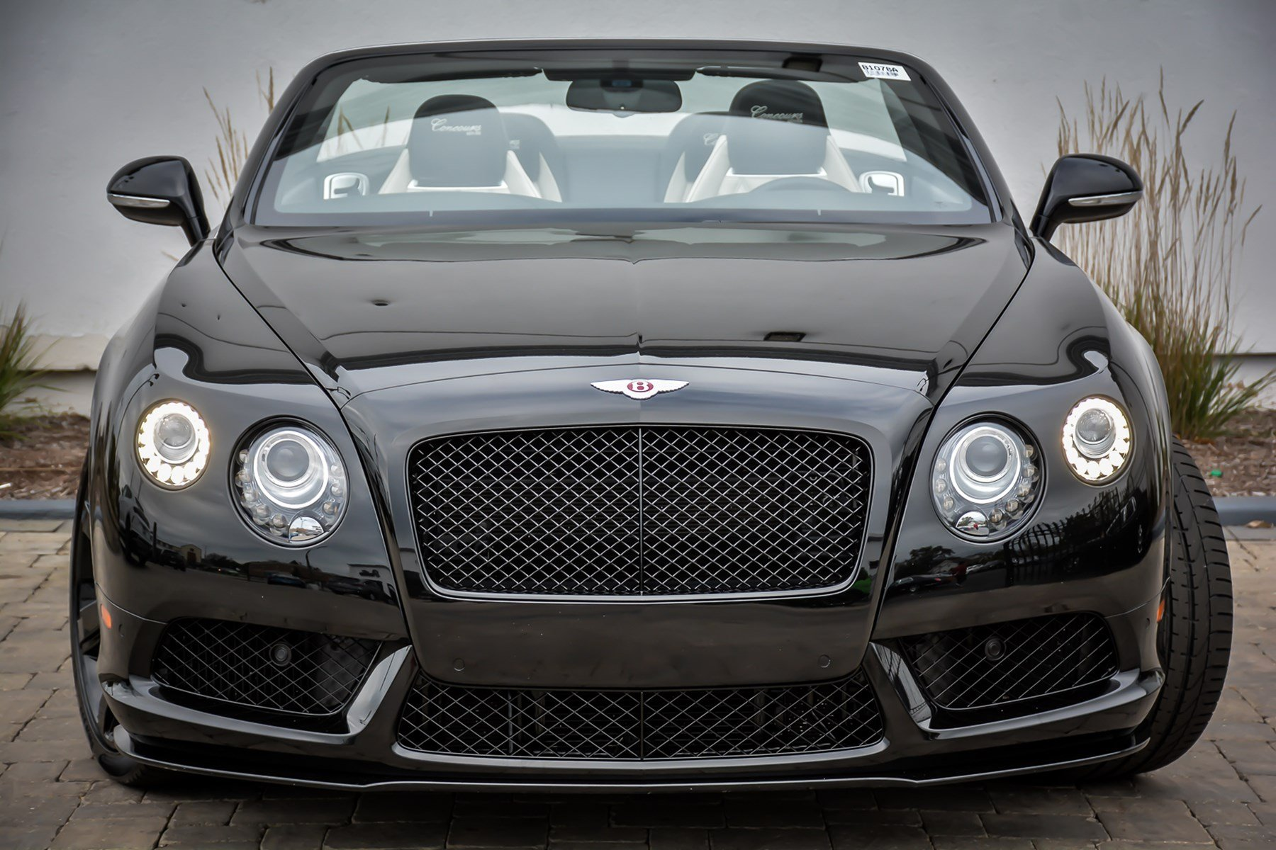 Pre-Owned 2015 Bentley Continental GTC V8 S Concourse Series Black Specification