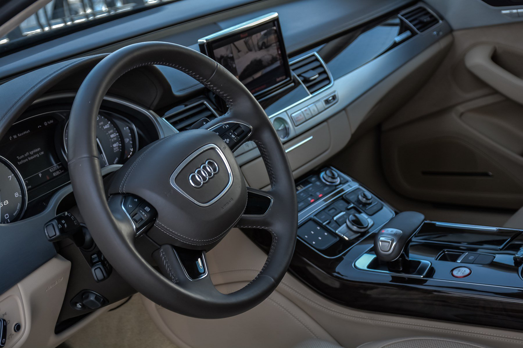 Pre-Owned 2014 Audi S8 With Navigation/Rear Ent.