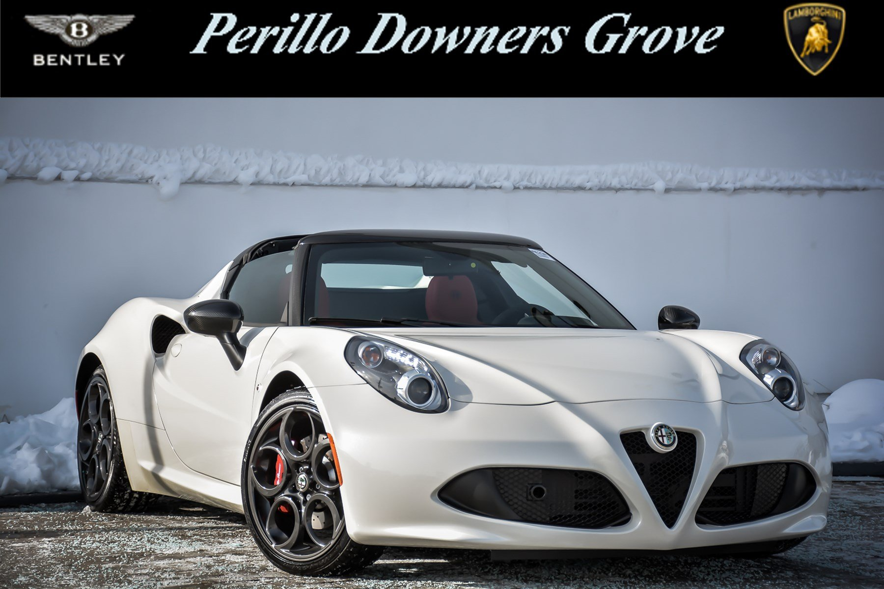 Pre Owned 2015 Alfa Romeo 4C Convertible in Downers Grove M629A C