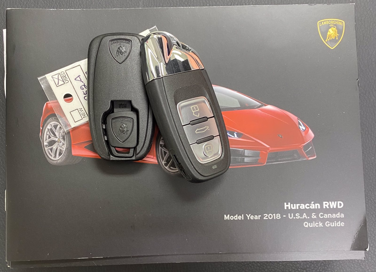 Pre-Owned 2018 Lamborghini Huracan LP 580-2 With Navigation