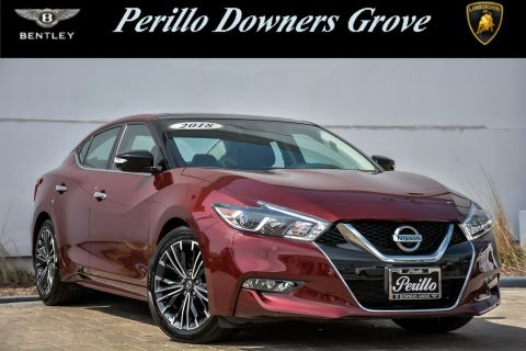 Pre-Owned 2018 Nissan Maxima Platinum With Navigation