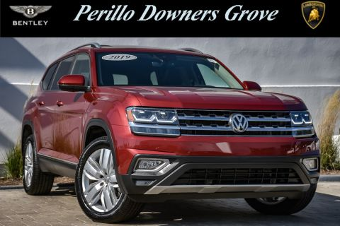 Pre-Owned 2019 Volkswagen Atlas 3.6L V6 SEL With Navigation
