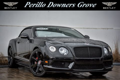 Pre-Owned 2015 Bentley Continental GT V8 S Concours Series Black Specification