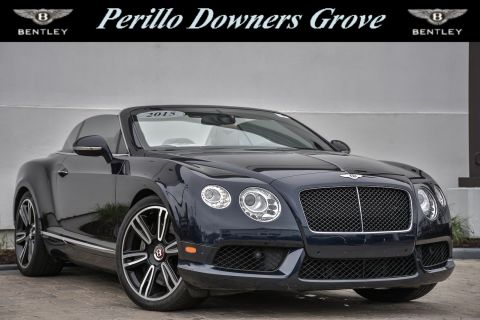 Pre-Owned 2015 Bentley Continental GTC V8 Mulliner