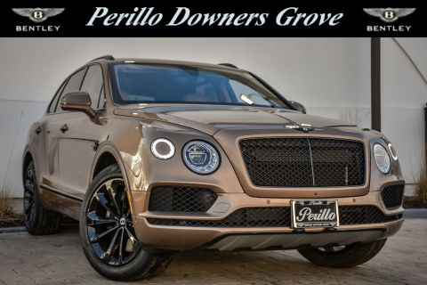 Pre-Owned 2017 Bentley Bentayga W12 w/Custom Black Optics Pkg/Nav