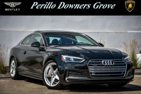 Pre-Owned 2018 Audi A5 Coupe Premium Plus S-Line w/Nav