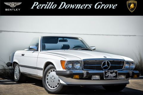 Pre-Owned 1988 Mercedes-Benz 560SL Roadster