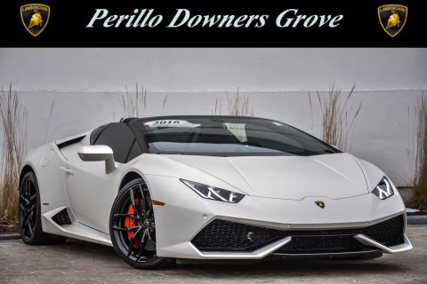 Pre-Owned 2016 Lamborghini Huracan LP 610-4 Spyder With Navigation