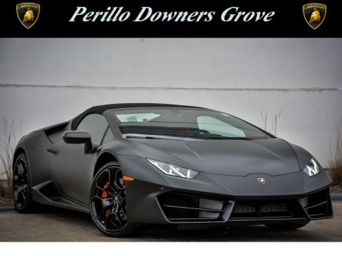 Pre-Owned 2018 Lamborghini Huracan Sypder LP580-2 With Navigation