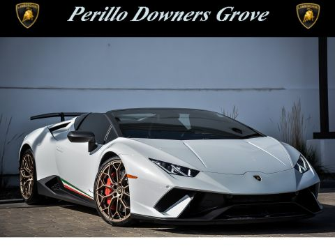 Pre-Owned 2018 Lamborghini Huracan LP610-4 Performante Spyder